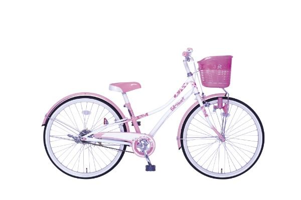 【送料無料】 タマコシ 22型 子供用自転車 フルハート22(ピンク/シングルシフト)【組立商品につき返品不可】 【代金引換配送不可】