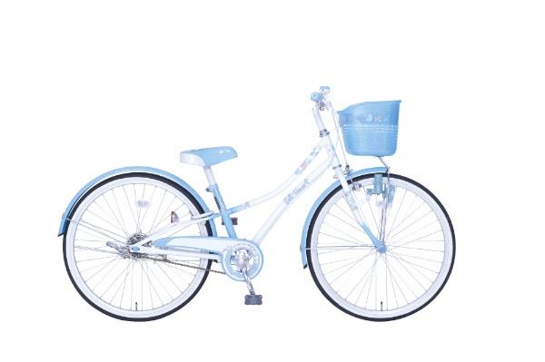 【送料無料】 タマコシ 24型 子供用自転車 フルハート24(ブルー/シングルシフト)【組立商品につき返品不可】 【代金引換配送不可】