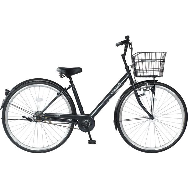 【送料無料】 チャクル 27型 ノーパンク自転車 チャクル CITY V スタンダードモデル(ブラック/シングルシフト) CHR-CC270V【組立商品につき返品不可】 【代金引換配送不可】【メーカー直送・代金引換不可・時間指定・返品不可】