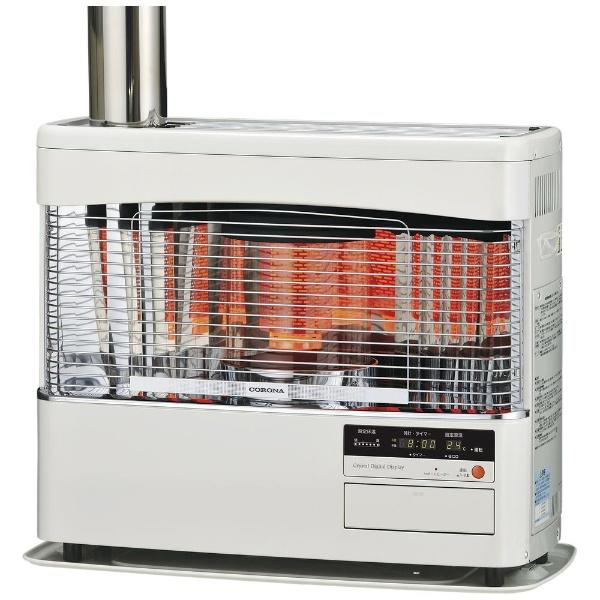 【送料無料】 コロナ CORONA ポット式輻射床暖ストーブUH-77BSH(ホワイト) UH-77BSH ホワイト [11~20畳 /31畳~]