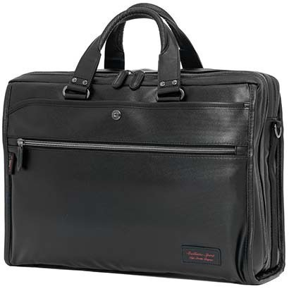 【送料無料】 バリスティックスピリット ビジネスバッグ BS-4862BK ブラック