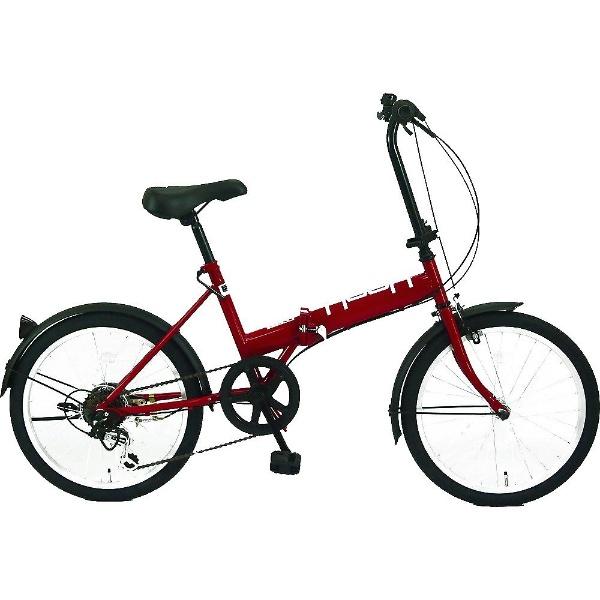 【送料無料】 サイモト自転車 20型 折りたたみ自転車 HOOH ホウオウ206(ピンク/外装6段変速)FD-B206B【組立商品につき返品不可】 【代金引換配送不可】【メーカー直送・代金引換不可・時間指定・返品不可】