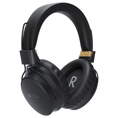 【送料無料】 SUDIO ブルートゥースヘッドホン KLAR-BLACK ブラック [Bluetooth /ノイズキャンセリング対応]
