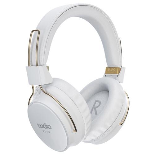 【送料無料】 SUDIO ブルートゥースヘッドホン KLAR-WHITE ホワイト [Bluetooth /ノイズキャンセル対応]
