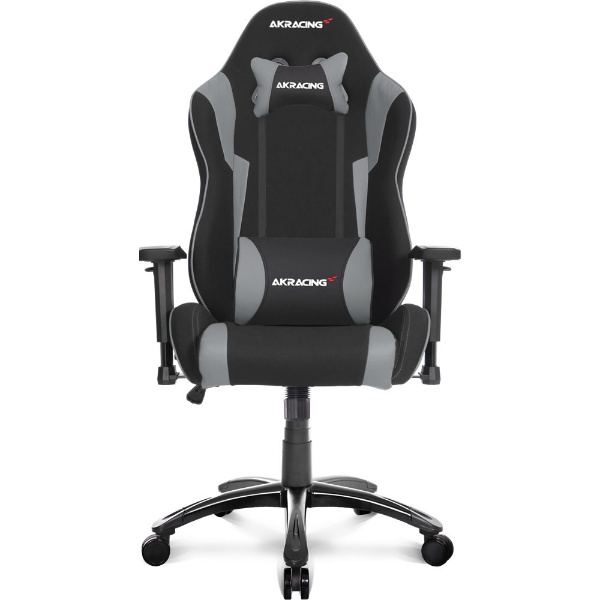 【送料無料】 AKRACING Wolf Gaming Chair (Grey) WOLF-GREY AKRWOLFGREY グレー