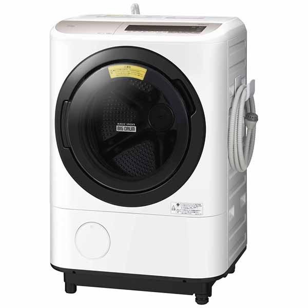 【標準設置費込み】 日立 HITACHI BD-NV120CL ドラム式洗濯乾燥機 シャンパン [洗濯12.0kg /乾燥6.0kg /左開き]