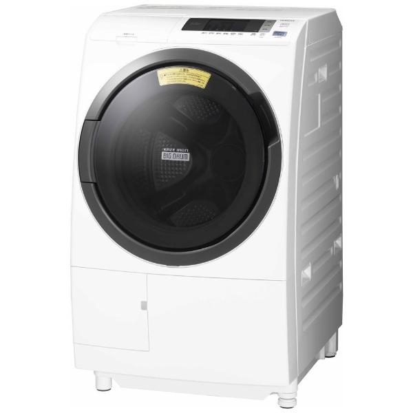 【標準設置費込み】 日立 HITACHI 【5%OFFクーポン 11/12 20:00~11/12 23:59】BD-SG100CL ドラム式洗濯乾燥機 ホワイト [洗濯10.0kg /乾燥6.0kg /左開き]