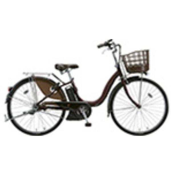 【送料無料】 ブリヂストン 26型 電動アシスト自転車 アシスタDX(F.X カラメルブラウン) A6DC39 【2018年モデル】【組立商品につき返品不可/2018年9月上旬発売】 【代金引換配送不可】