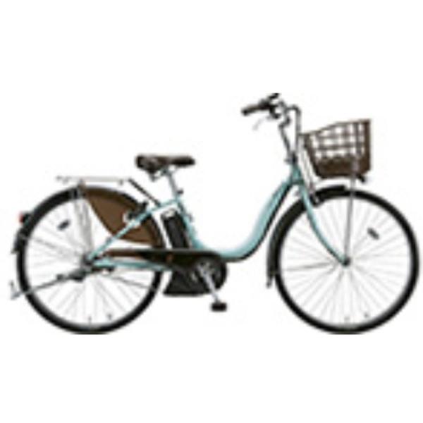 【送料無料】 ブリヂストン 26型 電動アシスト自転車 アシスタDX(P.X オパールミント) A6DC39【2018年モデル】【組立商品につき返品不可/2018年9月上旬発売】 【代金引換配送不可】