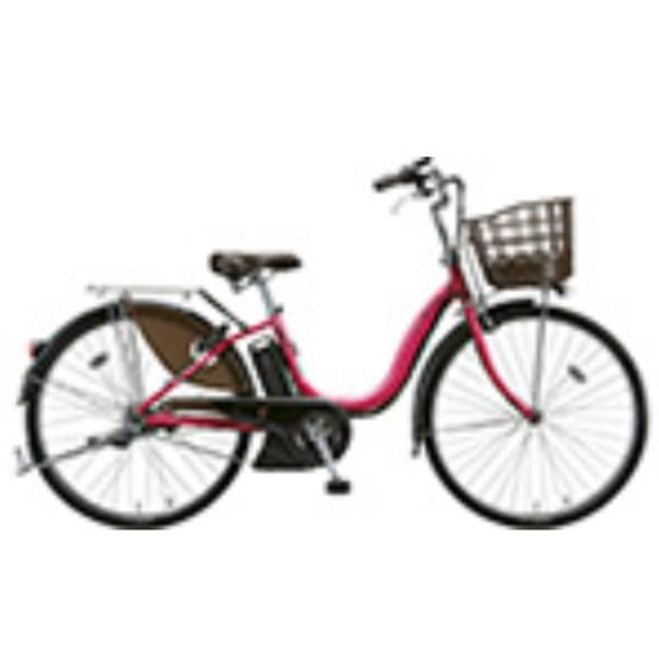 【送料無料】 ブリヂストン 26型 電動アシスト自転車 アシスタDX(E.X ディープピンク) A6DC39【2018年モデル】【組立商品につき返品不可/2018年9月上旬発売】 【代金引換配送不可】