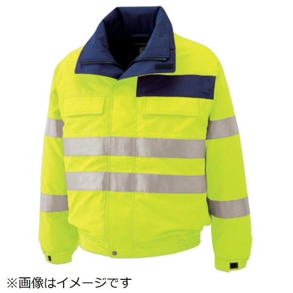 【送料無料】 ミドリ安全 ミドリ安全 高視認性 防水帯電防止防寒ブルゾン イエロー 3L