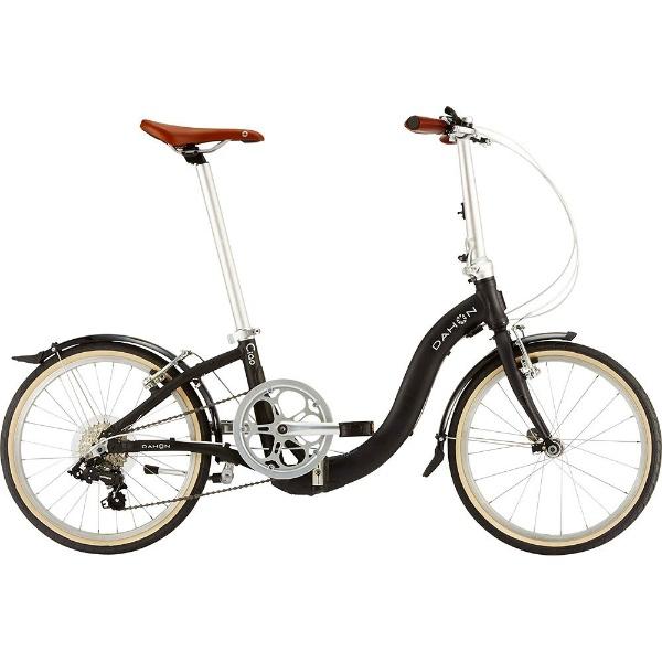 【送料無料】 DAHON 20型 折りたたみ自転車 Ciao(マットブラック/外装7段変速)【2019年モデル】【組立商品につき返品不可】 【代金引換配送不可】【メーカー直送・代金引換不可・時間指定・返品不可】
