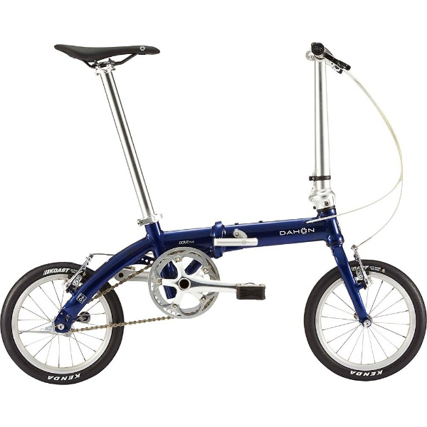 【送料無料】 DAHON 14型 折りたたみ自転車 Dove Plus(グランドネイビー/シングル)【2019年モデル】【組立商品につき返品不可】 【代金引換配送不可】【メーカー直送・代金引換不可・時間指定・返品不可】
