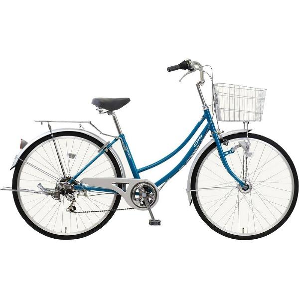 【送料無料】 MARUKIN 26型 自転車 CPH(ライトブルー/6段変速) MK-18-050【2019年モデル】【組立商品につき返品不可】 【代金引換配送不可】【メーカー直送・代金引換不可・時間指定・返品不可】
