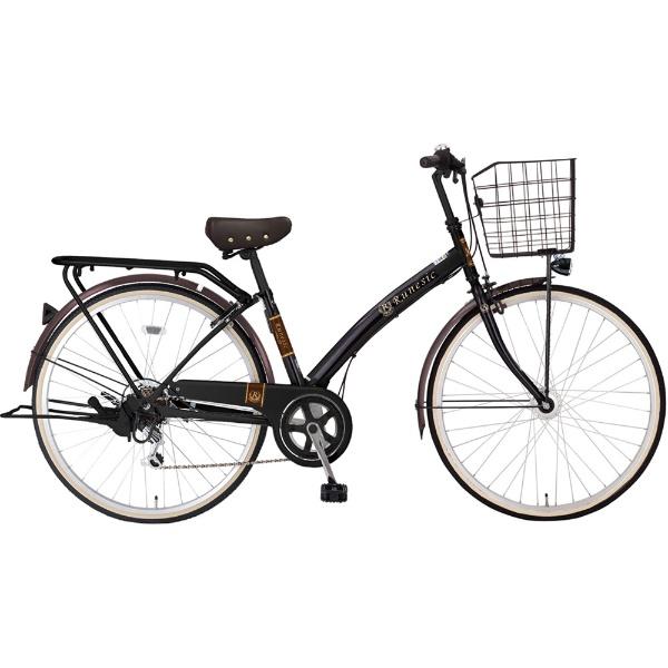 【送料無料】 MARUKIN 27型 自転車 ルネシック276-X(ブラック/6段変速)MK-18-053【2019年モデル】【組立商品につき返品不可】 【代金引換配送不可】【メーカー直送・代金引換不可・時間指定・返品不可】