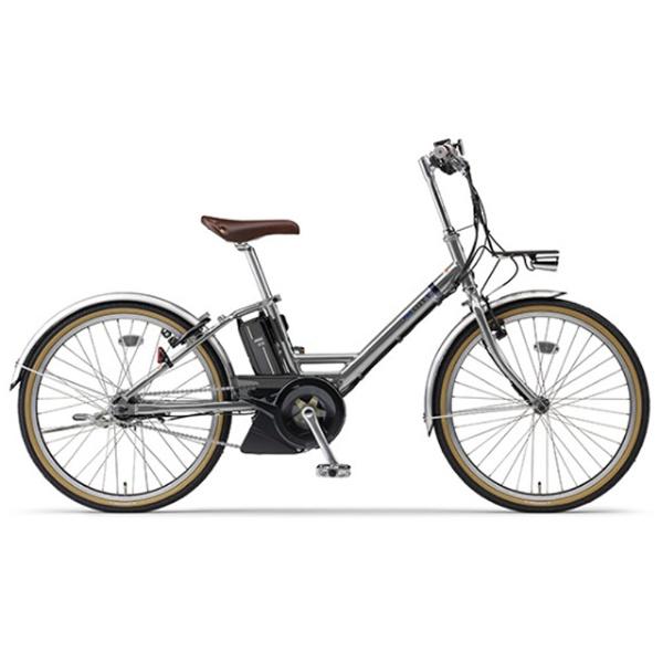 【送料無料】 ヤマハ YAMAHA 24型 電動アシスト自転車 CITY-V(ミラーシルバー/内装5段変速) PA24CV【2018年モデル】【組立商品につき返品不可】 【代金引換配送不可】