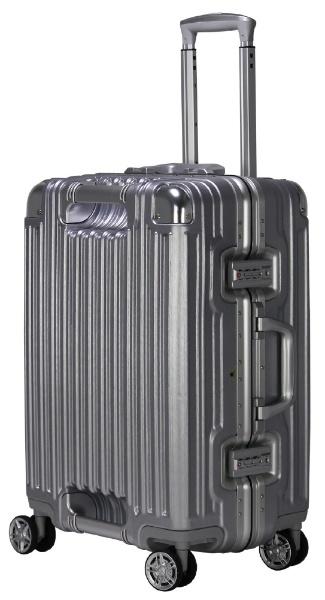 【送料無料】 トライデント ハードフレームスーツケース TRI110252ALSV アルミシルバー