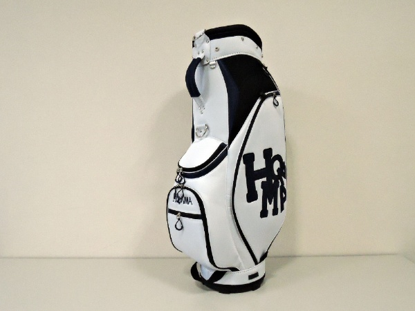 【送料無料】 本間ゴルフ CB-1826 キャディバッグ HONMA ホワイトネイビー