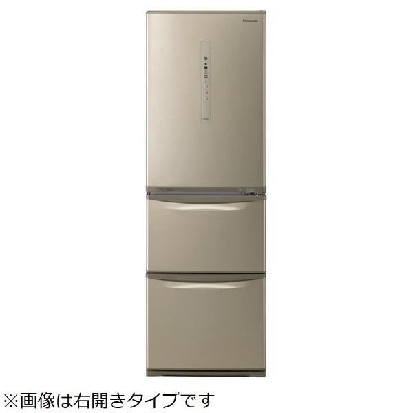 【標準設置費込み】 パナソニック Panasonic 《基本設置料金セット》NR-C37HCL-N 冷蔵庫 シルキーゴールド [3ドア /左開きタイプ /365L]