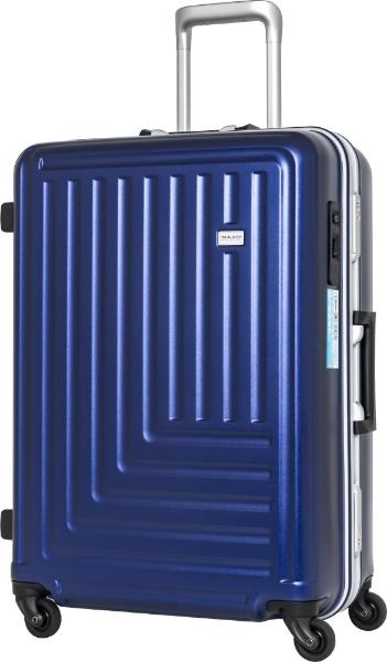 【送料無料】 TRAVELEARTH スーツケース TE-0791-67NV ネイビー【point10】