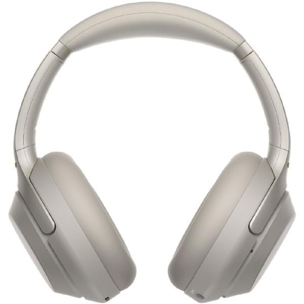 【送料無料】 ソニー SONY ブルートゥースヘッドホン WH-1000XM3SM プラチナシルバー [ハイレゾ対応 /マイク対応 /Bluetooth /ノイズキャンセリング対応]