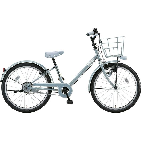 【送料無料】 ブリヂストン 22型 子供用自転車 bikke j(ブルーグレー×シングル/シングルシフト)BK22VJ【2019年モデル】 【代金引換配送不可】