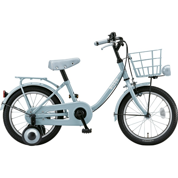 【送料無料】 ブリヂストン 16型 幼児用自転車 bikke m(ブルーグレー×シングル/シングルシフト)BK16UM 【2019年モデル】 【代金引換配送不可】