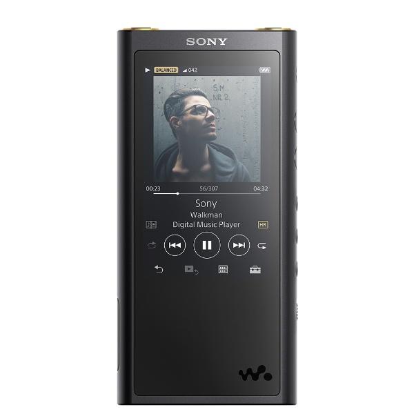 【送料無料】 ソニー SONY ハイレゾウォークマン WALKMAN ZXシリーズ 2018年モデル[イヤホンは付属していません] NW-ZX300G BM ブラック [128GB /ハイレゾ対応]