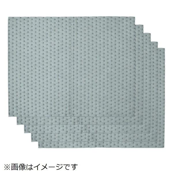 【送料無料】 テラモト テラモト 吸油シート(オイル・水両用)400×500mm  (110枚入)