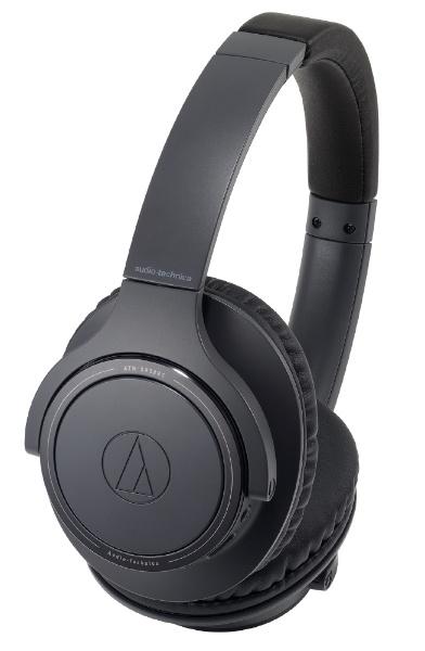 /Bluetooth] ブルートゥースヘッドホン 【送料無料】 【2018年11月09日発売】 ブラック オーディオテクニカ BK ATH-SR30BT [マイク対応