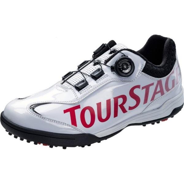 【送料無料】 ブリヂストン ゴルフシューズ TOURSTAGE SHTS8T(27.5cm/ホワイト)【軽量タイプ/3E/限定品】