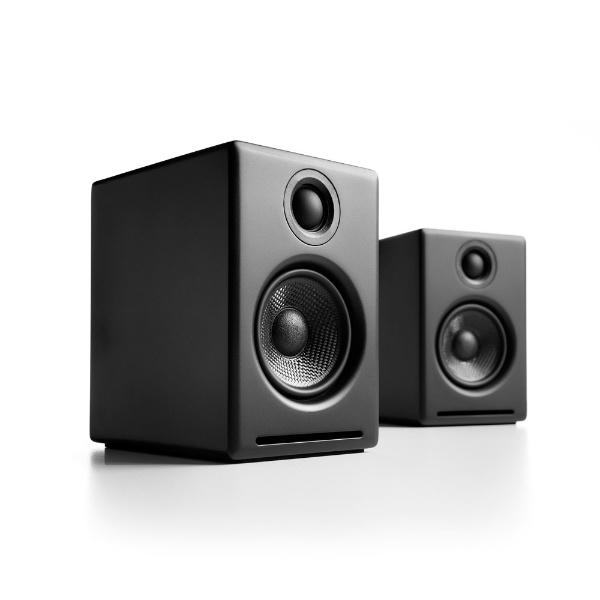 【送料無料】 Audioengine モニタースピーカー A2+/B サテン・ブラックペイント [2本]