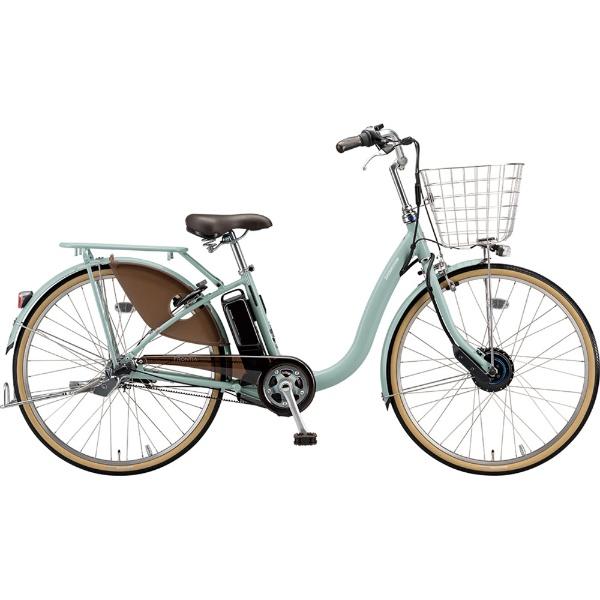 【送料無料】 ブリヂストン 26型 電動アシスト自転車 フロンティアデラックス(E.Xグレイッシュピンク/内装3段変速) F6DB49【2019年モデル】【組立商品につき返品不可】 【代金引換配送不可】