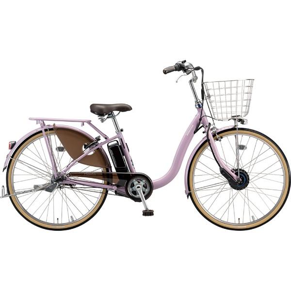 【送料無料】 ブリヂストン 26型 電動アシスト自転車 フロンティアデラックス(M.XHスパークルシルバー/内装3段変速) F6DB49【2019年モデル】【組立商品につき返品不可】 【代金引換配送不可】