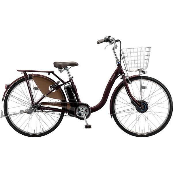 【送料無料】 ブリヂストン 24型 電動アシスト自転車 フロンティアデラックス(F.Xベルベットローズ/内装3段変速) F4DB49【2019年モデル】【組立商品につき返品不可】 【代金引換配送不可】