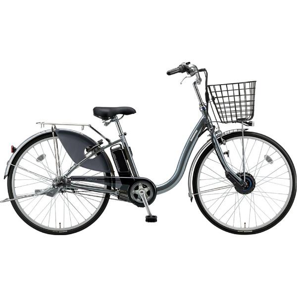 【送料無料】 ブリヂストン 26型 電動アシスト自転車 フロンティア(M.XHスパークルシルバー/内装3段変速) F6AB29【2019年モデル】【組立商品につき返品不可】 【代金引換配送不可】