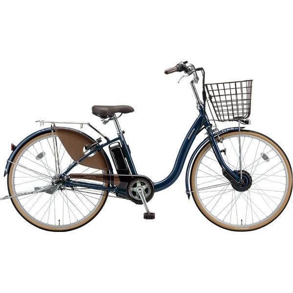 【送料無料】 ブリヂストン 26型 電動アシスト自転車 フロンティア(E.Xノーブルネイビー/内装3段変速) F6AB29【2019年モデル】【組立商品につき返品不可】 【代金引換配送不可】