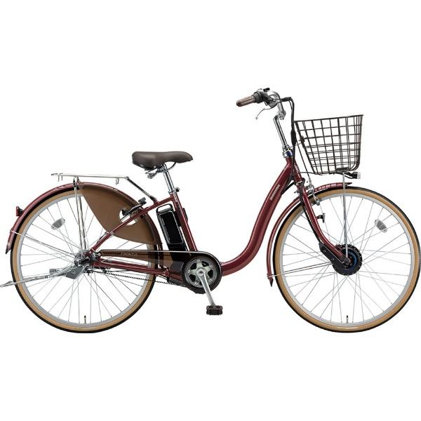 【送料無料】 ブリヂストン 24型 電動アシスト自転車 フロンティア(F.Xベルベットローズ/内装3段変速) F4AB29【2019年モデル】【組立商品につき返品不可】 【代金引換配送不可】