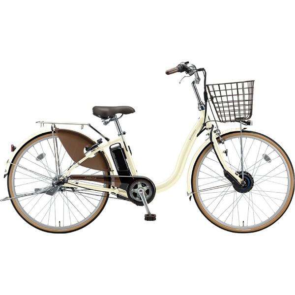 【送料無料】 ブリヂストン 24型 電動アシスト自転車 フロンティア(E.Xクリームアイボリー/内装3段変速) F4AB29【2019年モデル】【組立商品につき返品不可】 【代金引換配送不可】