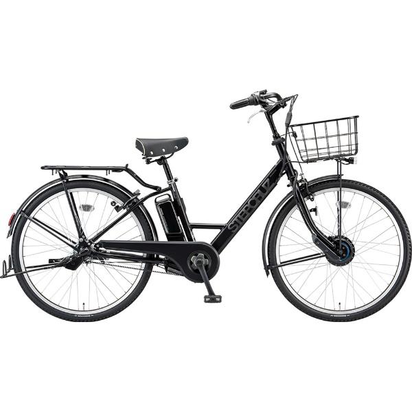 【送料無料】 ブリヂストン 26型 電動アシスト自転車 ステップクルーズ e(T.Xクロツヤケシ/内装3段変速) ST6B49【2019年モデル】【組立商品につき返品不可】 【代金引換配送不可】