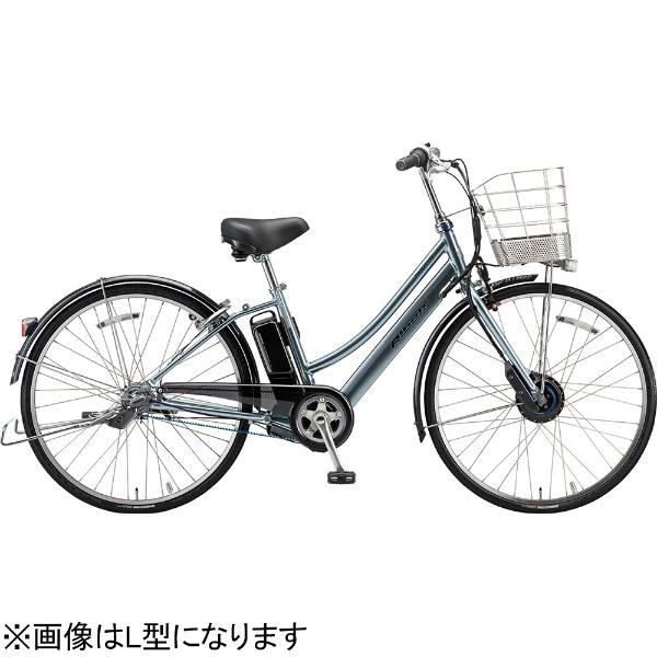 【送料無料】 ブリヂストン 27型 電動アシスト自転車 アルベルトe B400 S型(M.XHスパークルシルバー/内装5段変速) AS7B49【2019年モデル】【組立商品につき返品不可】 【代金引換配送不可】
