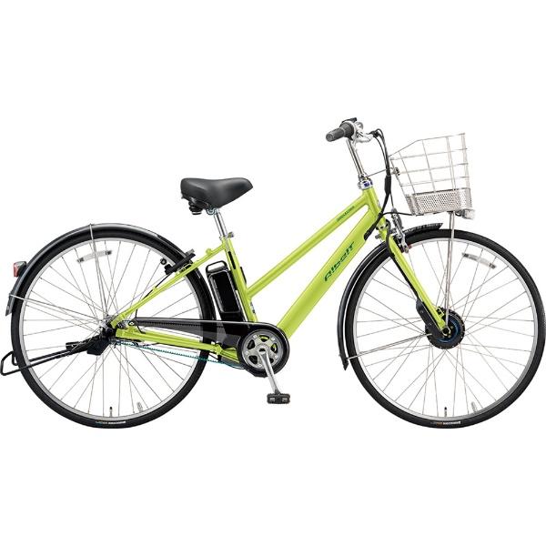 【送料無料】 ブリヂストン 27型 電動アシスト自転車 アルベルトe B400 S型(T.ネオンライム/内装5段変速) AS7B49【2019年モデル】【組立商品につき返品不可】 【代金引換配送不可】