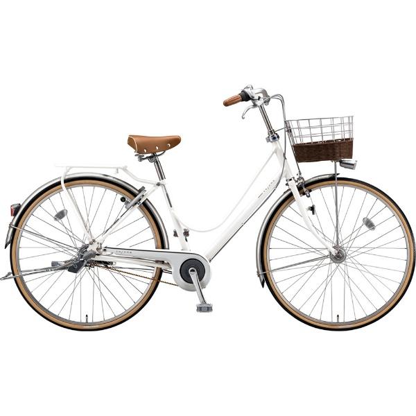 【送料無料】 ブリヂストン 27型 自転車 カジュナ ベーシックライン デラックス(E.XBKホワイト/3段変速/ベルトモデル) CB73B【2019年モデル】 【代金引換配送不可】