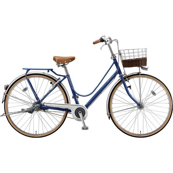 【送料無料】 ブリヂストン 27型 自転車 カジュナ ベーシックライン デラックス(E.Xアメリカンブルー/3段変速/ベルトモデル) CB73B【2019年モデル】 【代金引換配送不可】