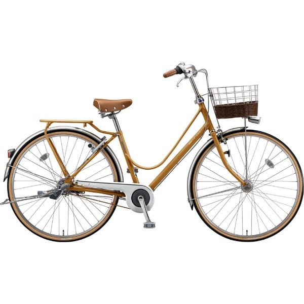【送料無料】 ブリヂストン 27型 自転車 カジュナ ベーシックライン デラックス(E.Xキャラメルブラウン/3段変速/ベルトモデル) CB73B【2019年モデル】 【代金引換配送不可】