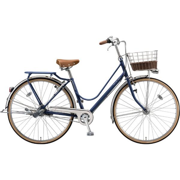 【送料無料】 ブリヂストン 27型 自転車 カジュナ ベーシックライン デラックス(E.Xアメリカンブルー/3段変速/チェーンモデル) CB7TP【2019年モデル】 【代金引換配送不可】