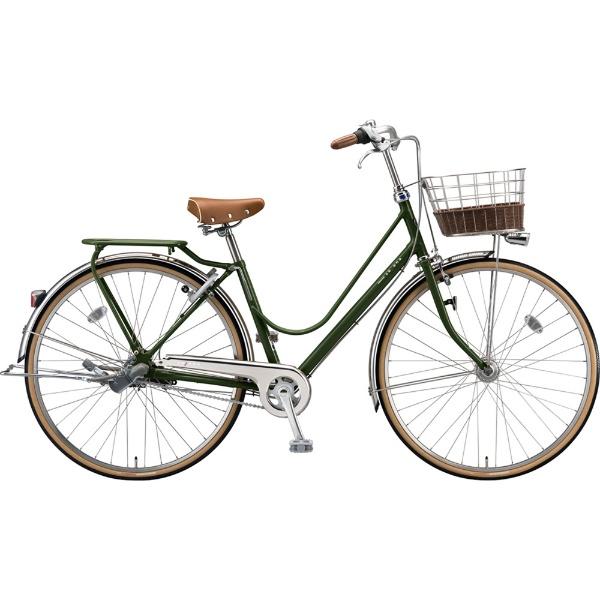 【送料無料】 ブリヂストン 27型 自転車 カジュナ ベーシックライン デラックス(E.Xダークオリーブ/3段変速/チェーンモデル) CB7TP【2019年モデル】 【代金引換配送不可】