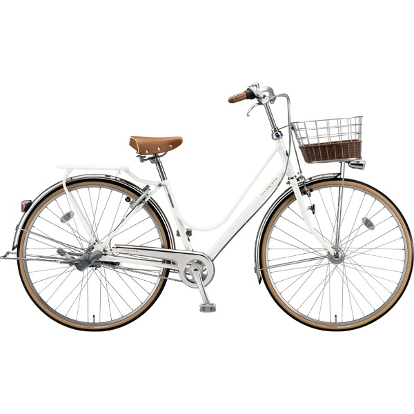 【送料無料】 ブリヂストン 26型 自転車 カジュナ ベーシックライン デラックス(E.XBKホワイト/3段変速/チェーンモデル) CB6TP【2019年モデル】 【代金引換配送不可】