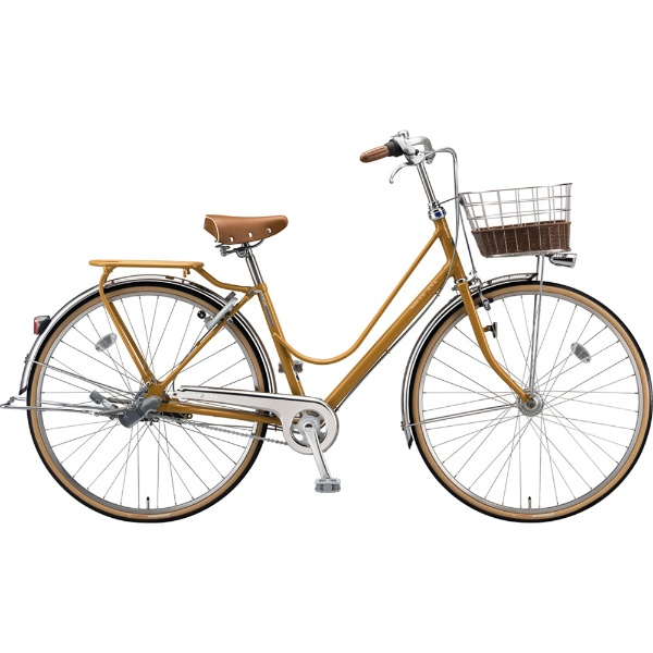 【送料無料】 ブリヂストン 26型 自転車 カジュナ ベーシックライン デラックス(E.Xキャラメルブラウン/3段変速/チェーンモデル) CB6TP【2019年モデル】 【代金引換配送不可】