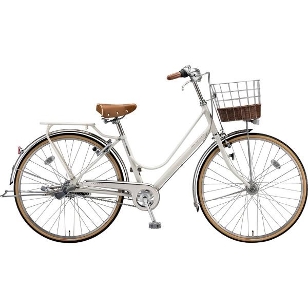 【送料無料】 ブリヂストン 26型 自転車 カジュナ ベーシックライン スタンダード(E.XBKホワイト/3段変速) CB63T【2019年モデル】 【代金引換配送不可】